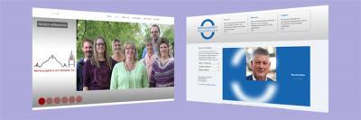 Neue Logos und Webseiten für zwei Auftraggeber